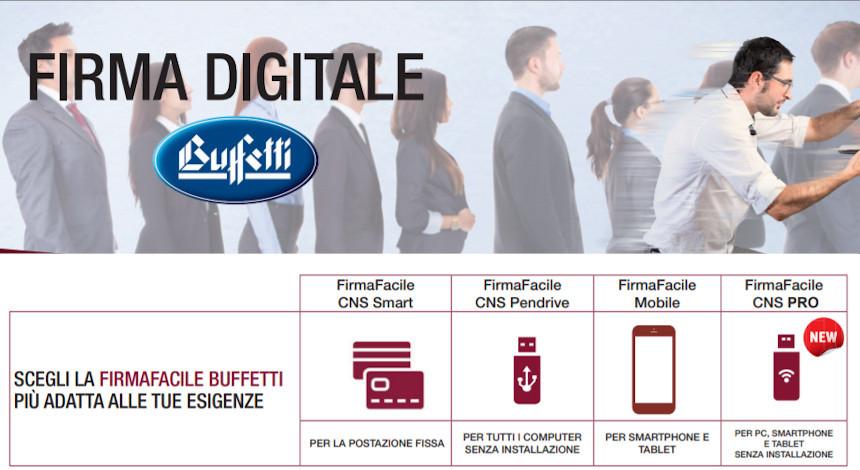La Firma digitale ed il CNS